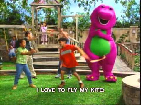 Barney - My Kite Song