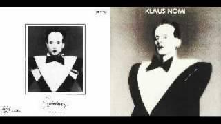 Klaus Nomi - Nomi Song