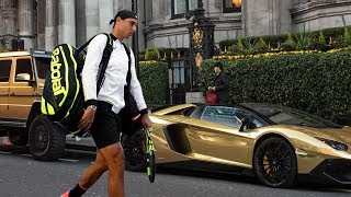 Rafael Nadal - The Rich Life, Net Worth, Cars Collection, House, Private Jet and Yatch 2018