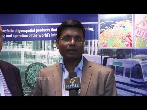 Rajathurai At India Geospatial Forum 2015 - Hybiz.tv