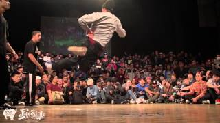 SQUADRON vs POLSKEE FLAVOR FINAL Freestyle Session World Finals 2013 in Tokyo
