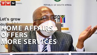 Home Affairs Minister Aaron Motsoaledi addressed the media on 3 March 2021 where he detailed further services that the department would be offering as the country had moved into level one of lockdown.  #COVID19 #AaronMotsoaledi #HomeAffairs