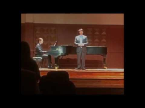 Blow Blow Thou Winter Wind performed by Stephan Pellissier
