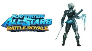 PlayStation All Stars Battle Royale walkthrough - part 1 Raiden Story Metal gear solid series