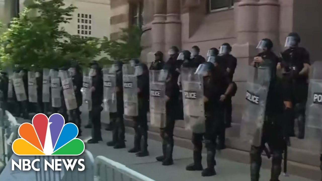 New Videos Emerge Of Police Using Deadly Force As Protests Continue | NBC  Nightly News - YouTube
