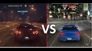 Need For Speed Underground VS Need For Speed (2015) - Cars, Sounds & Graphics BIGGEST Comparison
