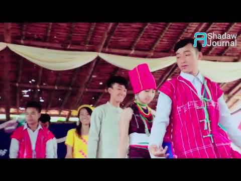 Karenni traditional dance by High school students on July 7 , 2018
