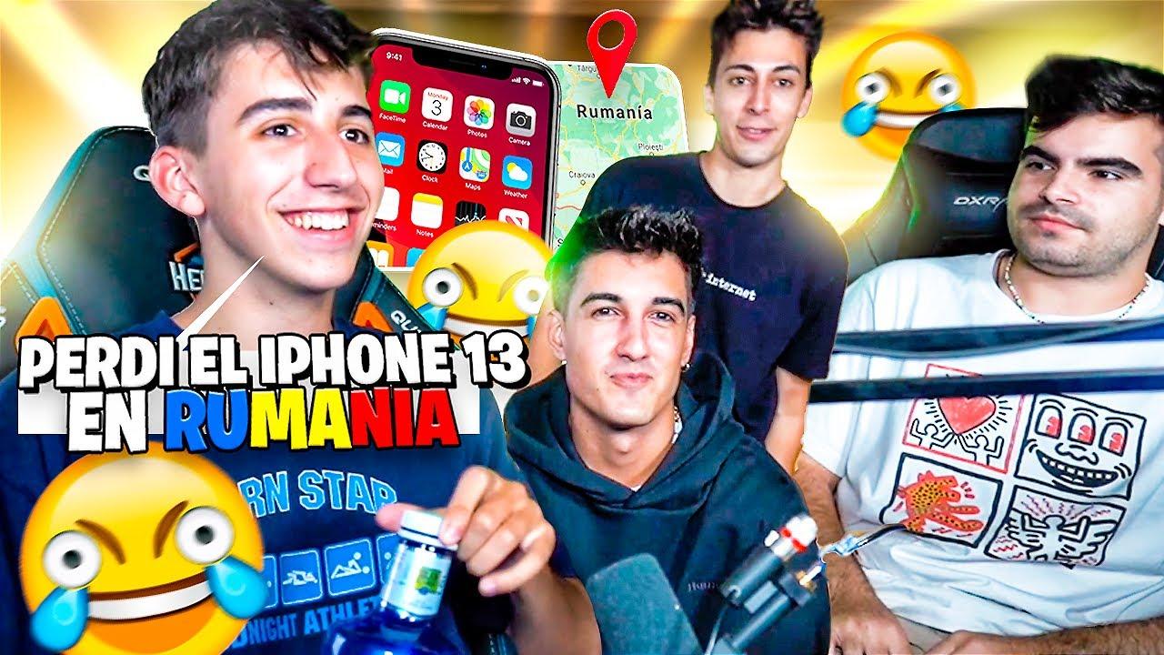 🤣PERDI EL IPHONE 13 EN RUMANIA🤣- Mejores Momentos Twitch España & LATAM #mejoresmomentos #Twitch