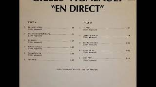 Gilles Vigneault  En direct   (Album complet)