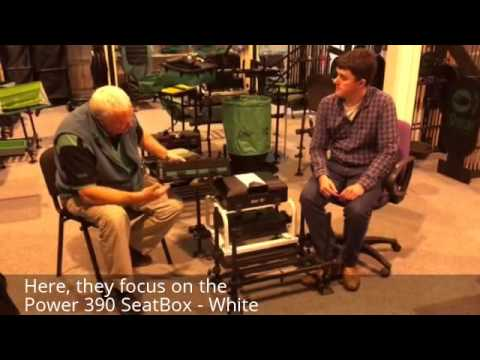 Tom Scholey talks to Mark Downes about the Power 390 seatbox white