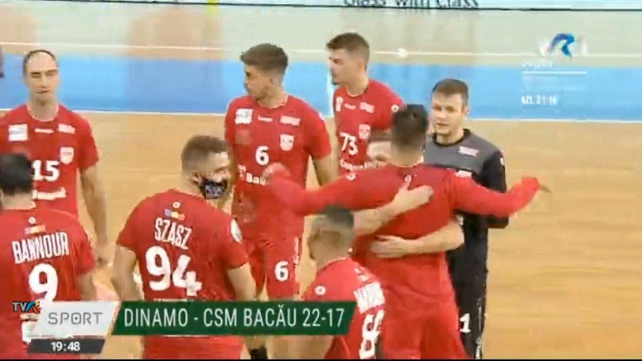 Finala Cupei României 2020 la handbal maculin: Dinamo - Dobrogea Sud, în direct la #TVR1