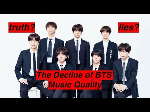 has BTS' music quality declined?