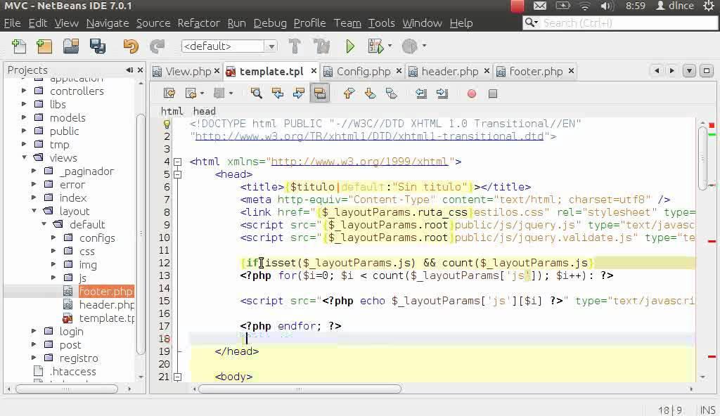 13 PHP:POO+MVC- Crear un framework básico(Motor de plantillas Smarty ...
