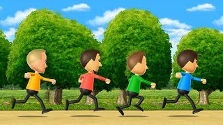 Wii Party - Walk-Off Minigames Advanced Difficult| Cartoons Mee