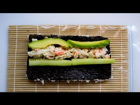California Sushi Roll Recipe
