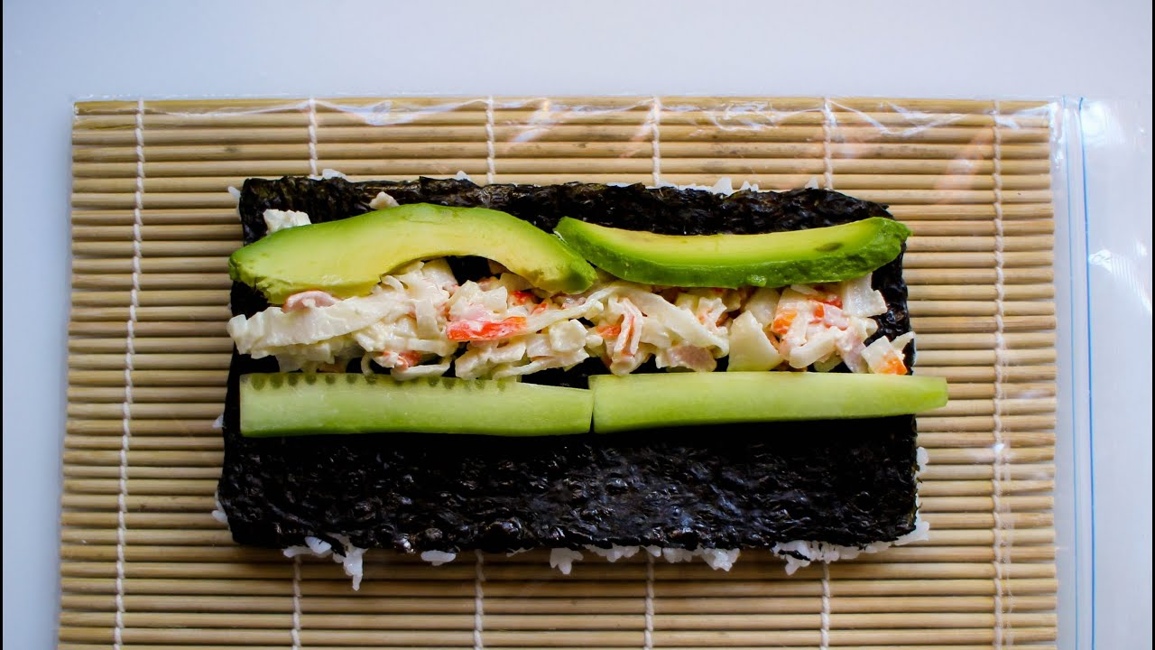 California Sushi Roll Tarifi