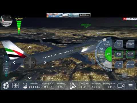 Emirates  Pro flight Emirates  Airbus A321 full flight video