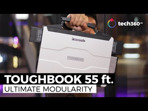 A Look At The Panasonic Toughbook 55 - Ultimate Protection & Modularity