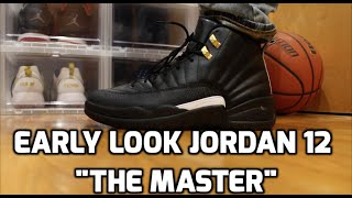 early unboxing air jordan 12 the master unboxing review on feet