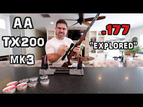 Air Arms TX200 Mk3 .177 - Vlog08