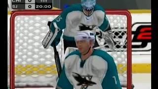 NHL 2K3 (Gamecube) Blackhawks vs Sharks