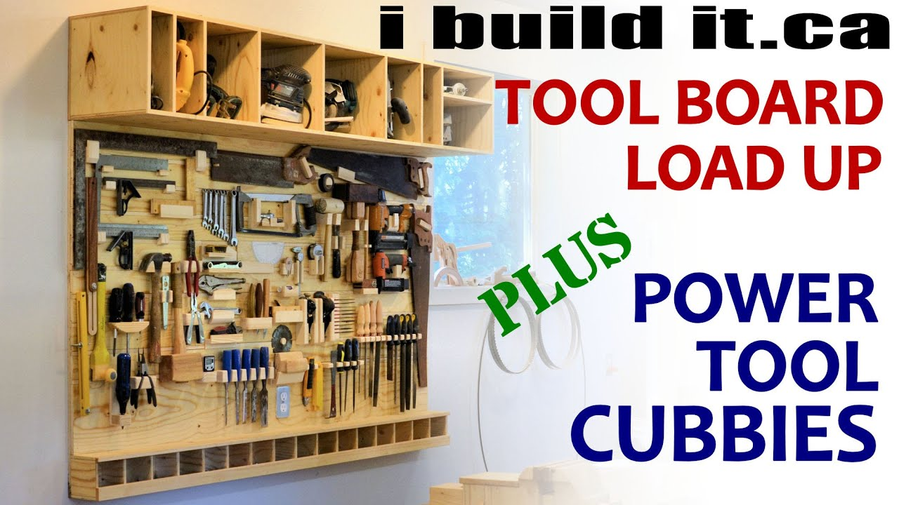 Tv Cabinet Ideas Loading Up The Tool Board Youtube