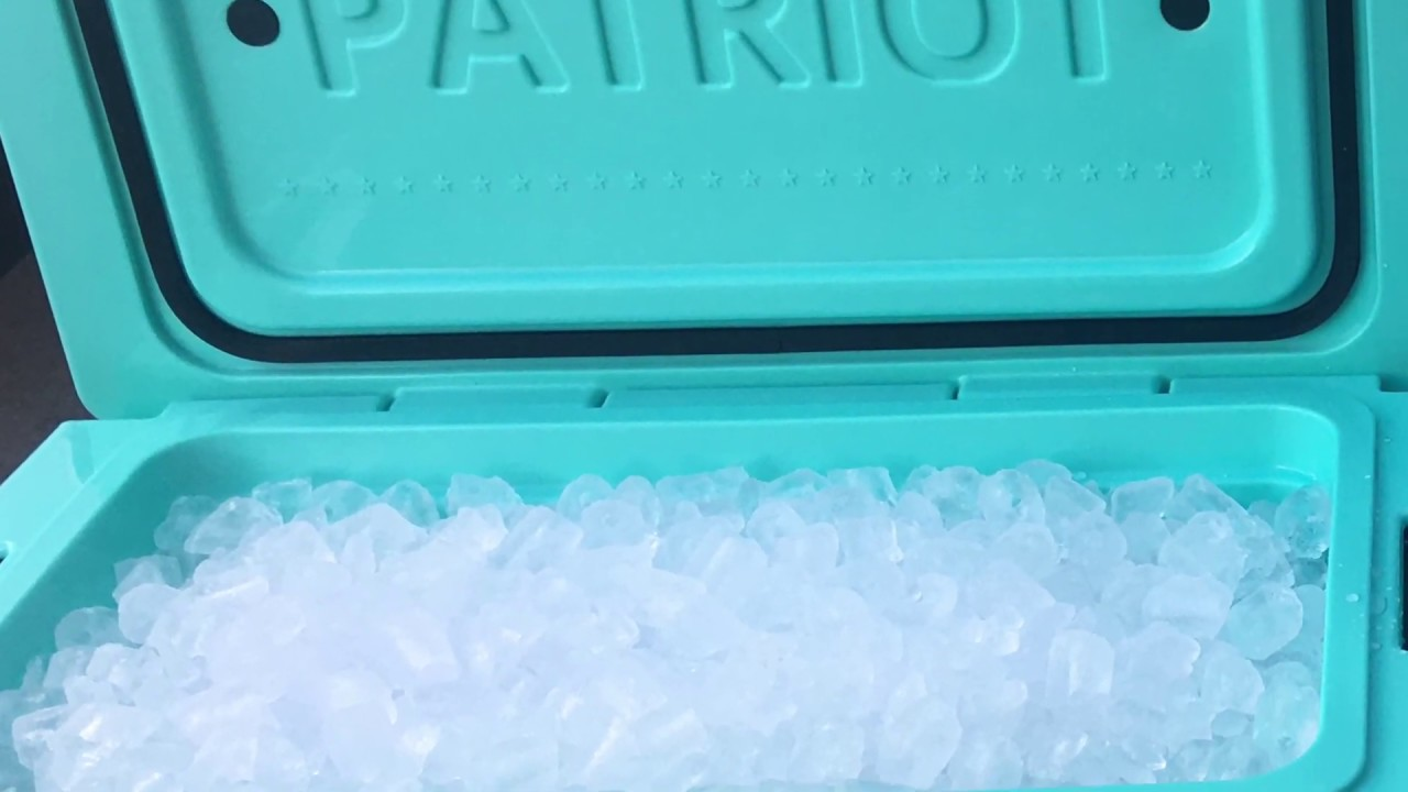 PATRIOT Cooler 9 DAY ICE TEST