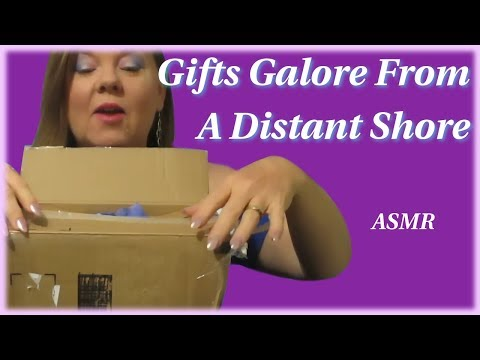 A Special Gift From A Special Lady ~ Unboxing ~ Unwrapping Gifts ~ ASMR