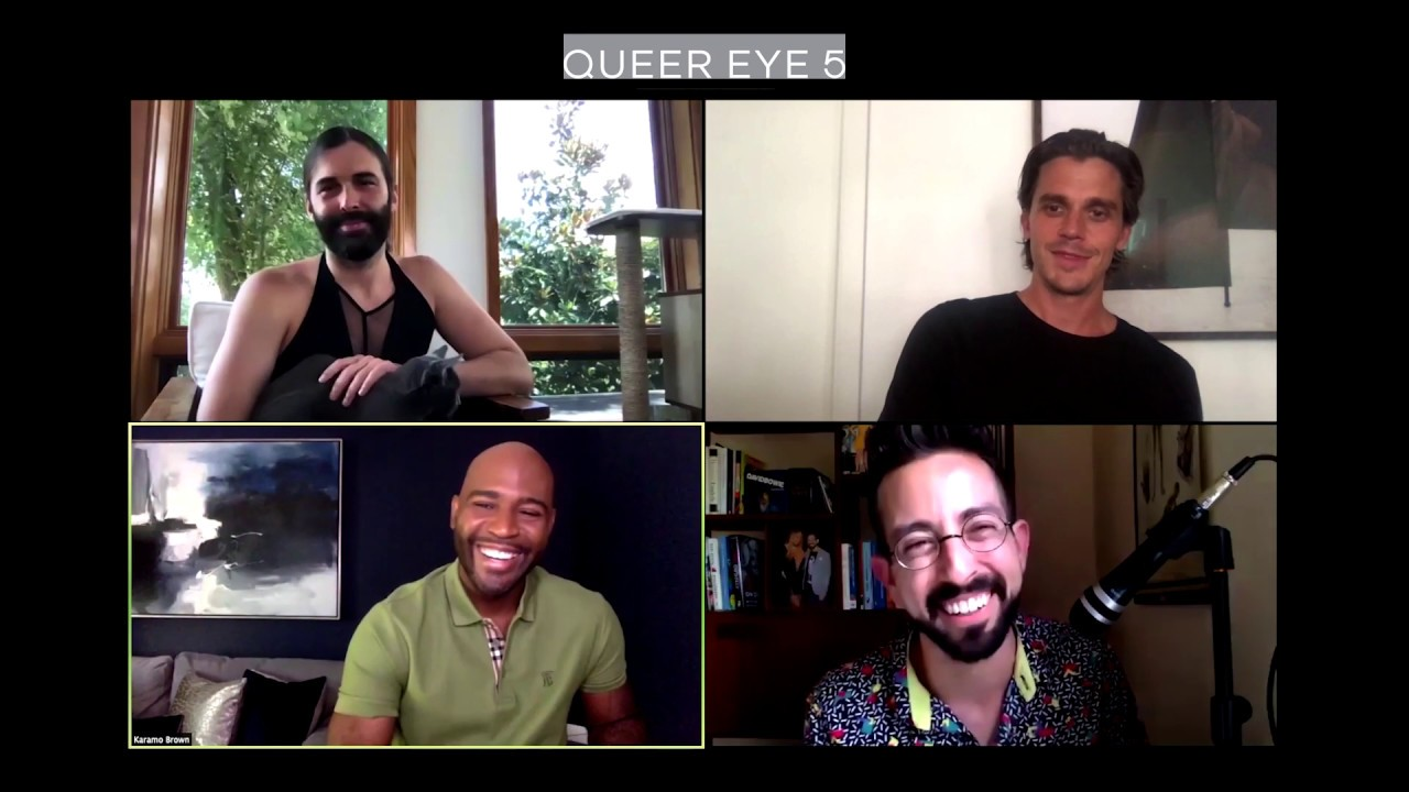'Queer Eye' stars Jonathan, Karamo and Antoni on how to talk to 'All Lives Matter' people