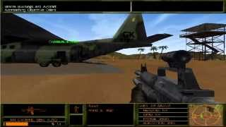 "Delta Force 2 - Mission 3 ""Air Mail"" (walkthrough, gameplay)"