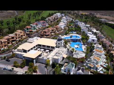 Hotel Suite Villa María From A Drone Perspective