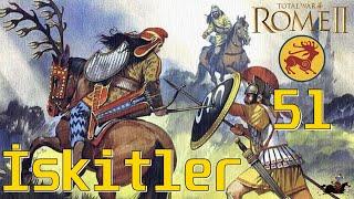 ASİL İSKİTLER (SAKALAR) Royal Scythia #51 [EFSANEVİ] Total War: Rome 2 TÜRKÇE