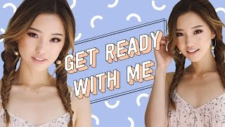 Chatty Get Ready With Me | Face of the Month + Q&A