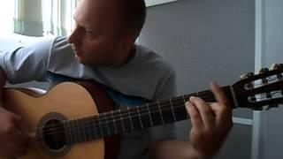 В.Цой-Кукушка.Инструментал на гитаре