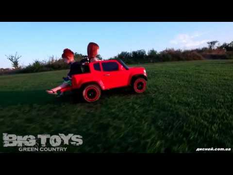 Детский электромобиль Джип M 3460 EBLR-2, Chevrolet Colorado, черный - дисней.com.ua