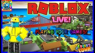 Roblox #127 (2)   PLAYING FAN GAMES / VIEWERS CHOICE!   LIVE!   (sjk livestreams #376)