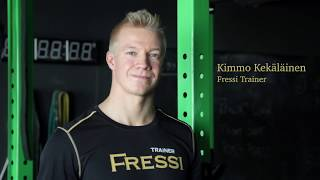 Kimmo, personal trainer