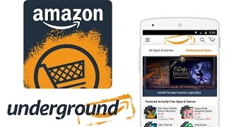 how to download amazon underground app( in english )