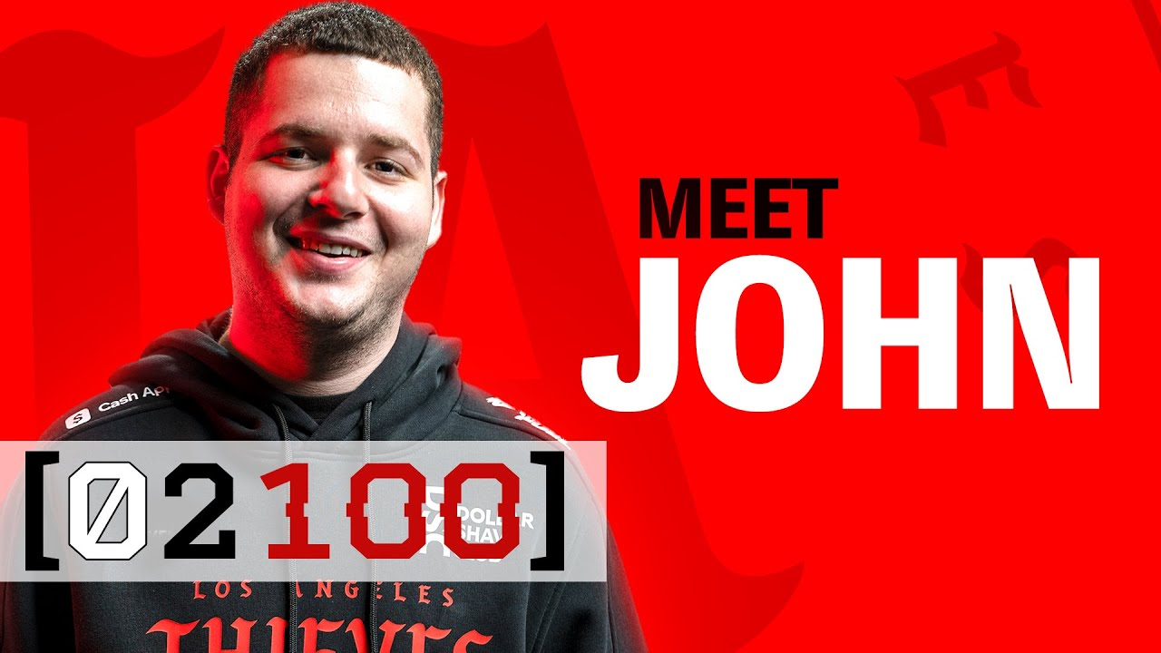 Meet JOHN, LA Thieves Secret Weapon vs Optic Chicago (Most Important Match of the Year)