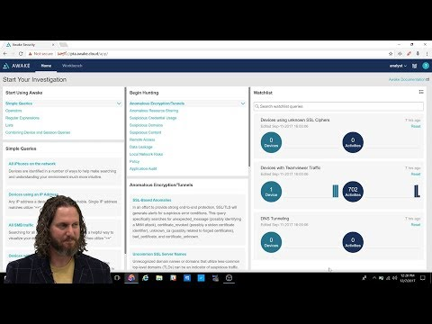 Demo of the Awake Security investigation platform with Gary Golomb