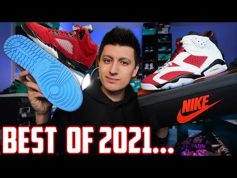 TOP 10 SNEAKERS RELEASES of 2021 SO FAR!