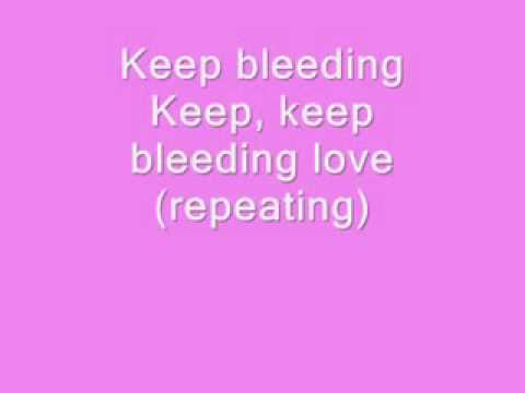 Leona Lewis   Bleeding Love Lyrics HQ + Free Download