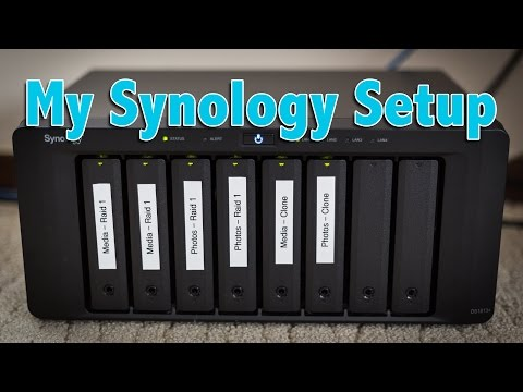 how to set up synology itunes server