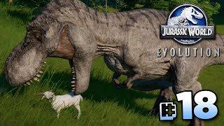 IT'S GONNA EAT THE GOAT?!? - Jurassic World Evolution FULL PLAYTHROUGH | Ep18 HD