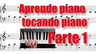 Aprende a leer notas de piano en 10 minutos. Parte 1. Impara...