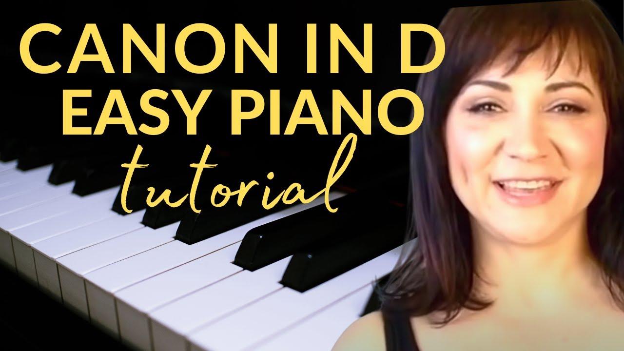 canon in d easy piano pdf