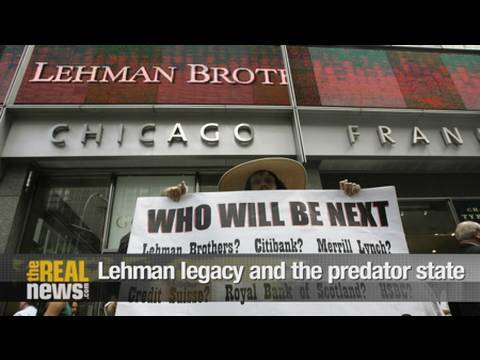 The Lehman legacy and the predator state