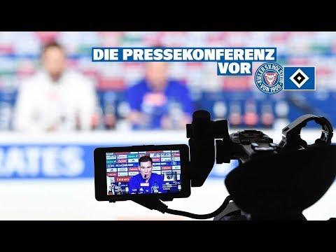 RELIVE: Die Pressekonferenz vor dem Auswärtsspiel bei Holstein Kiel