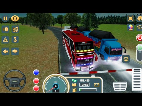 Mobile Bus Simulator New Bus #3 SEMARANG - Android Gameplay FHD