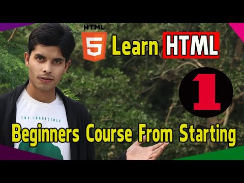 HTML For Beginners Course | Epi 01 | Create A Page & ETC thumbnail